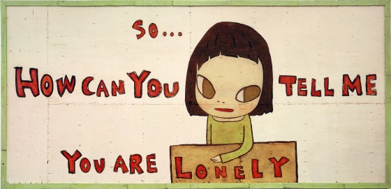 Feeling lonely? Just an impression