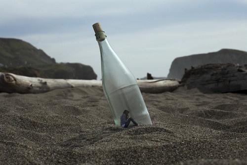 Messaggio in bottiglia (di vino)
