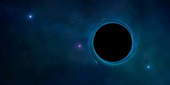 Black hole, artwork